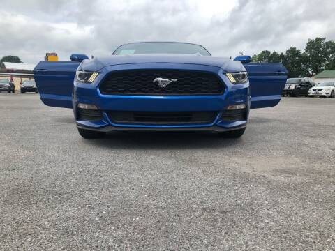 2017 Ford Mustang for sale at Morristown Auto Sales in Morristown TN