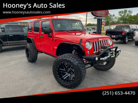 2018 Jeep Wrangler JK Unlimited for sale at Hooney's Auto Sales in Theodore AL