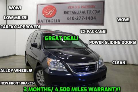 2009 Honda Odyssey for sale at Battaglia Auto Sales in Plymouth Meeting PA