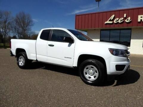 2018 Chevrolet Colorado for sale at Lee's Riverside Auto in Elk River MN