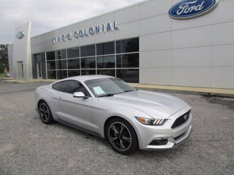 2017 Ford Mustang for sale at King's Colonial Ford in Brunswick GA