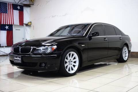 2006 BMW 7 Series for sale at ROADSTERS AUTO in Houston TX