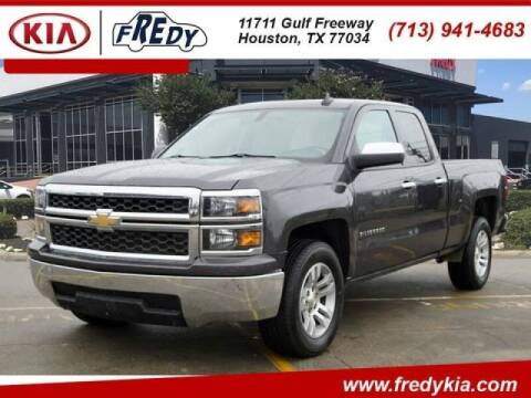 2015 Chevrolet Silverado 1500 for sale at FREDYS CARS FOR LESS in Houston TX