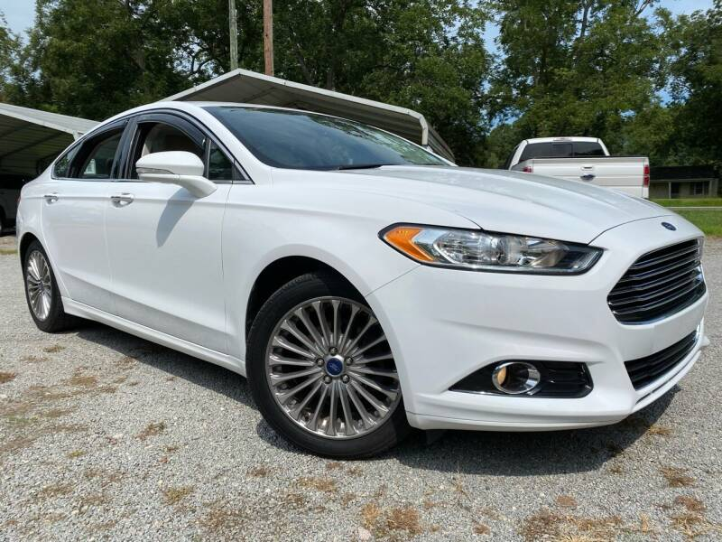 2015 Ford Fusion for sale at Byron Thomas Auto Sales, Inc. in Scotland Neck NC