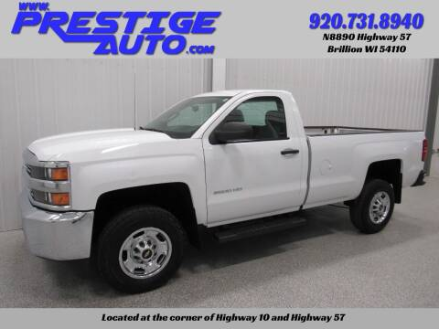2015 Chevrolet Silverado 2500HD for sale at Prestige Auto Sales in Brillion WI
