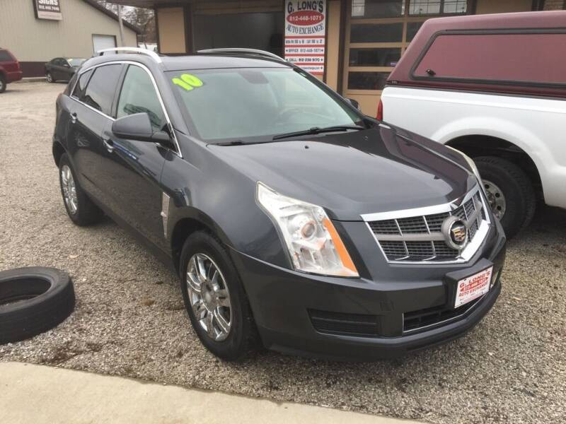 2010 Cadillac SRX for sale at G LONG'S AUTO EXCHANGE in Brazil IN