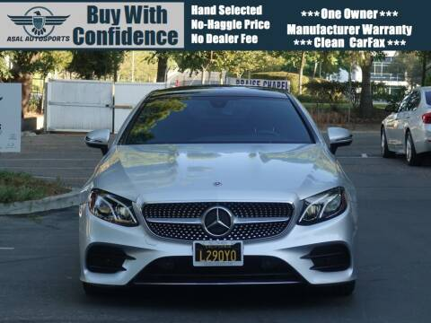 2018 Mercedes-Benz E-Class for sale at ASAL AUTOSPORTS in Corona CA