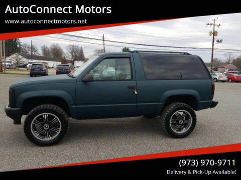 1995 GMC Yukon for sale at AutoConnect Motors in Kenvil NJ
