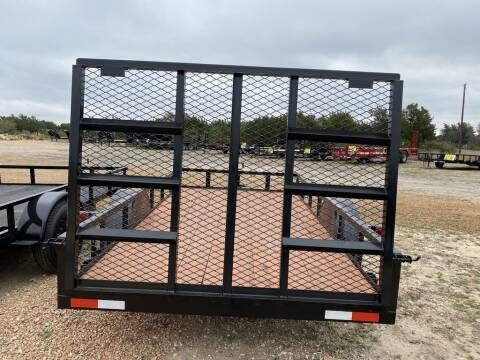 2020 P & C  - UTILITY 6' X 12' - IN & for sale at LJD Sales in Lampasas TX