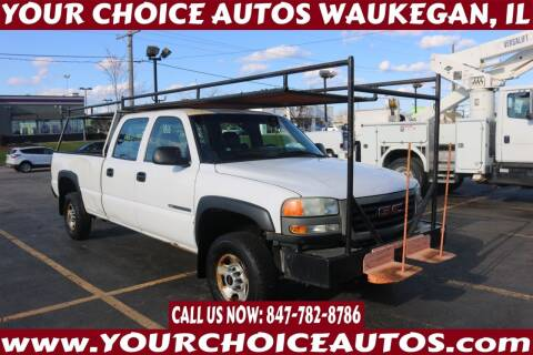 2004 GMC Sierra 2500HD for sale at Your Choice Autos - Waukegan in Waukegan IL