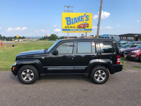 2008 Jeep Liberty for sale at Blake's Auto Sales in Rice Lake WI