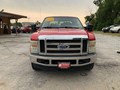 2008 Ford F-250 Super Duty for sale at Community Auto Brokers in Crown Point IN