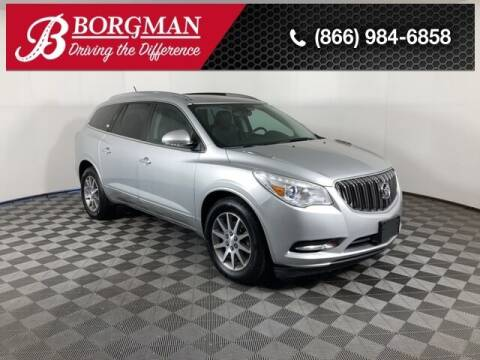 2015 Buick Enclave for sale at BORGMAN OF HOLLAND LLC in Holland MI
