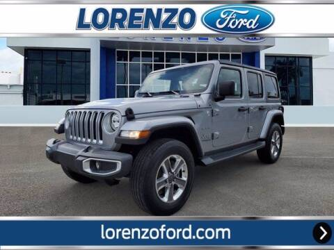 2020 Jeep Wrangler Unlimited for sale at Lorenzo Ford in Homestead FL