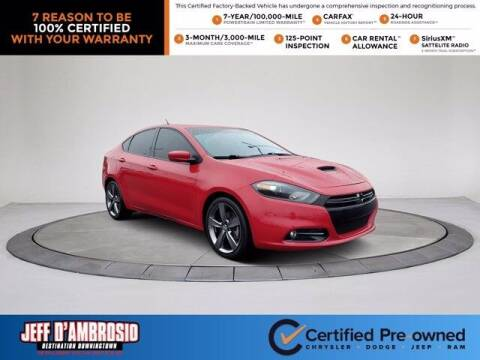 2016 Dodge Dart for sale at Jeff D'Ambrosio Auto Group in Downingtown PA