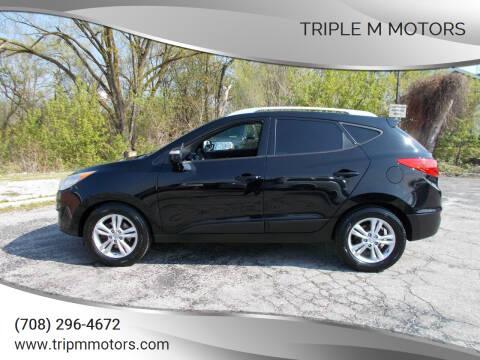 2012 Hyundai Tucson for sale at Triple M Motors in Saint John IN