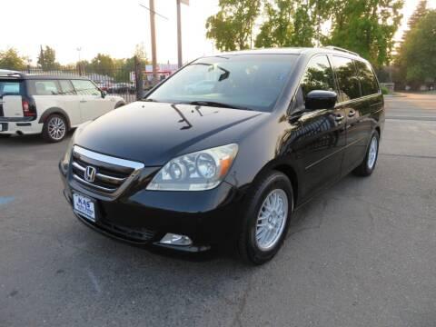 2007 Honda Odyssey for sale at KAS Auto Sales in Sacramento CA