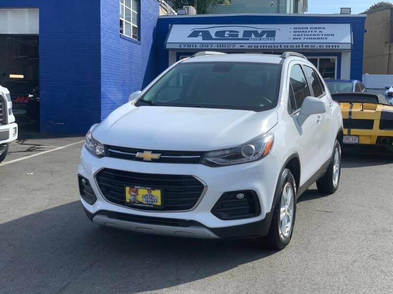 2017 Chevrolet Trax for sale at AGM AUTO SALES in Malden MA