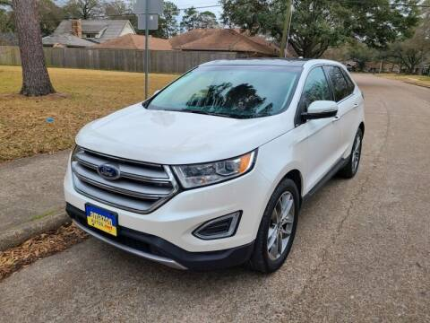 2015 Ford Edge for sale at Amazon Autos in Houston TX
