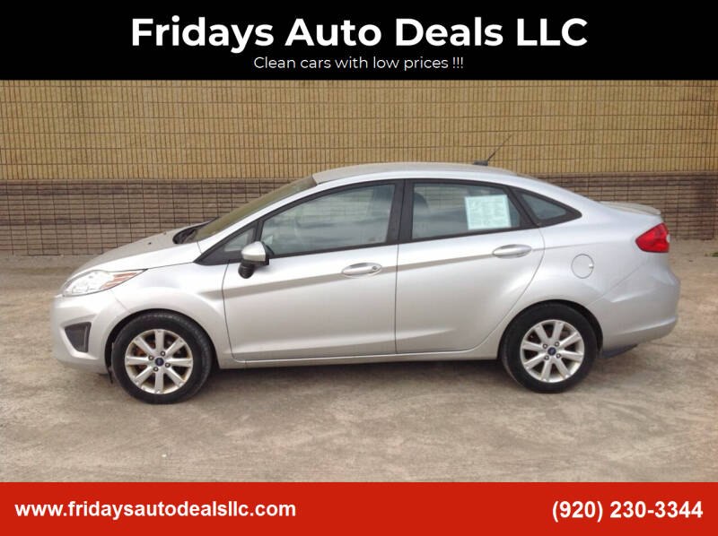 2012 Ford Fiesta for sale at Fridays Auto Deals LLC in Oshkosh WI