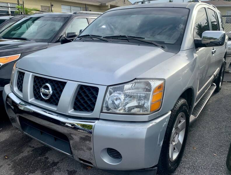 2004 Nissan Armada for sale at Naber Auto Trading in Hollywood FL