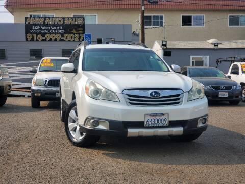 2011 Subaru Outback for sale at AMW Auto Sales in Sacramento CA