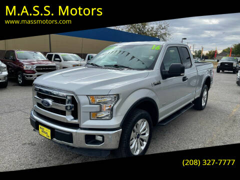 2016 Ford F-150 for sale at M.A.S.S. Motors in Boise ID