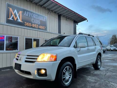 2005 Mitsubishi Endeavor for sale at M & A Affordable Cars in Vancouver WA