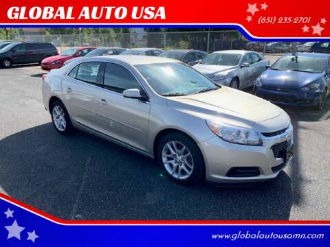 2015 Chevrolet Malibu for sale at GLOBAL AUTO USA in Saint Paul MN