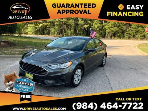 2020 Ford Fusion for sale at Drive 1 Auto Sales in Wake Forest NC