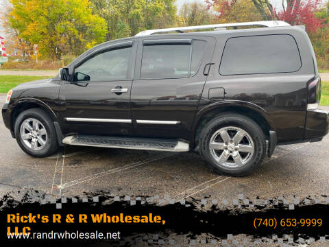 2012 Nissan Armada for sale at Rick's R & R Wholesale, LLC in Lancaster OH
