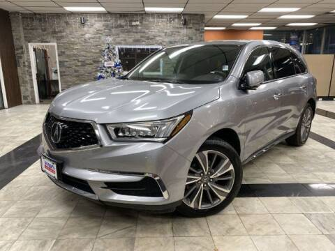 2017 Acura MDX for sale at Sonias Auto Sales in Worcester MA