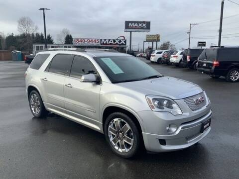 2012 GMC Acadia for sale at Maxx Autos Plus in Puyallup WA