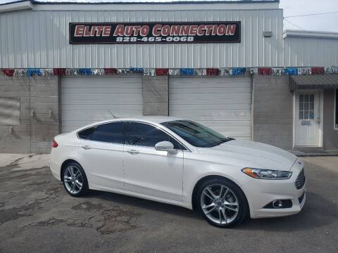 2013 Ford Fusion for sale at Elite Auto Connection in Conover NC
