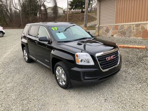 2017 GMC Terrain for sale at Watts Auto Sales in New Alexandria PA