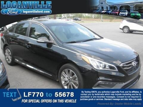 2017 Hyundai Sonata for sale at Loganville Quick Lane and Tire Center in Loganville GA