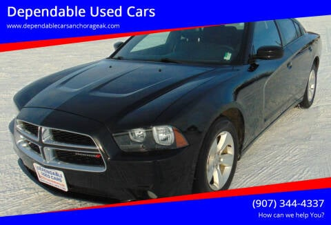 2013 Dodge Charger for sale at Dependable Used Cars in Anchorage AK