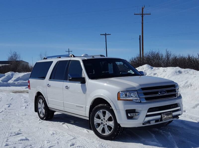 2016 Ford Expedition EL for sale at Electric City Auto Sales in Great Falls MT