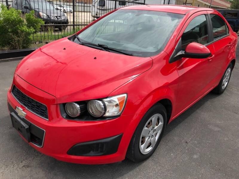 2014 Chevrolet Sonic for sale at Gold Star Motors Inc. in San Antonio TX