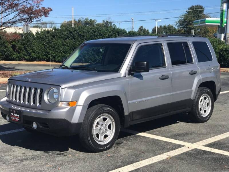 2015 Jeep Patriot for sale at RUSH AUTO SALES in Burlington NC