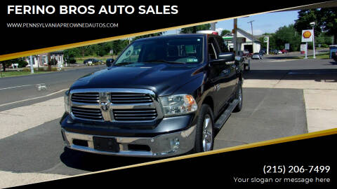 2014 RAM Ram Pickup 1500 for sale at FERINO BROS AUTO SALES in Wrightstown PA