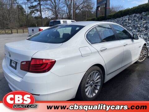 2013 BMW 5 Series for sale at CBS Quality Cars in Durham NC