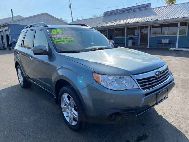 2009 Subaru Forester for sale at HACKETT & SONS LLC in Nelson PA