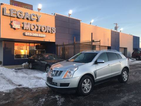 2013 Cadillac SRX for sale at Legacy Motors in Detroit MI