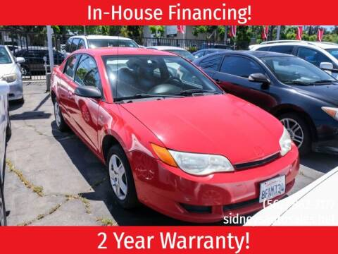 2007 Saturn Ion for sale at Sidney Auto Sales in Downey CA