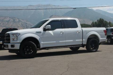 2017 Ford F-150 for sale at REVOLUTIONARY AUTO in Lindon UT