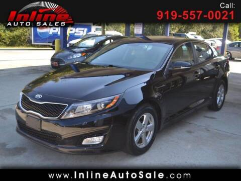 2015 Kia Optima for sale at Inline Auto Sales in Fuquay Varina NC
