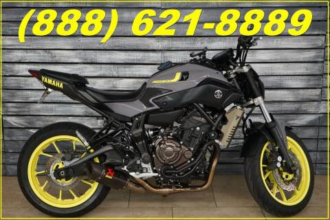 2016 Yamaha FZ-07 for sale at Motomaxcycles.com in Mesa AZ