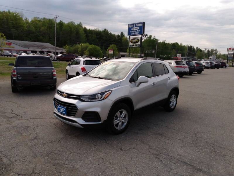 2018 Chevrolet Trax for sale at Ripley & Fletcher Pre-Owned Sales & Service in Farmington ME