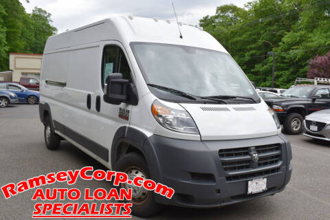 2018 RAM ProMaster Cargo for sale at Ramsey Corp. in West Milford NJ